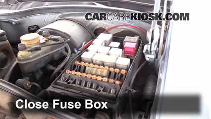 interior fuse box location 1980 1991 mercedes benz 380sel 1981 rh carcarekiosk com 1982 380SL 1981 380SL Engine