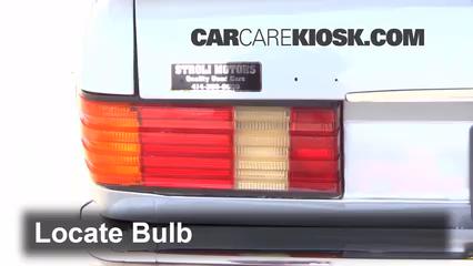 1981 mercedes-benz 380sel 3 8l v8 sedan (4 door) lights brake light