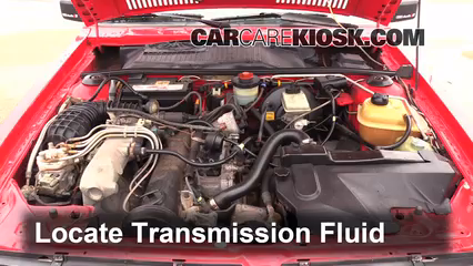 1984 Audi Coupe 2.2L 5 Cyl. Transmission Fluid