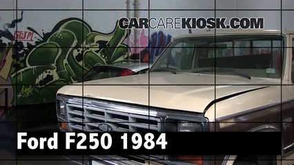 1984 Ford F-250 6.9L V8 Diesel Standard Cab Pickup Review
