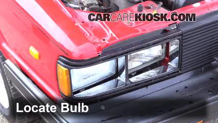 1984 Audi Coupe 2.2L 5 Cyl. Luces Luz de estacionamiento (reemplazar foco)