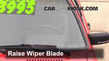 1984 Audi Coupe 2.2L 5 Cyl. Windshield Wiper Blade (Front)