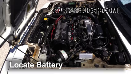 1985 Honda Prelude 2.0 Si 2.0L 4 Cyl. Battery