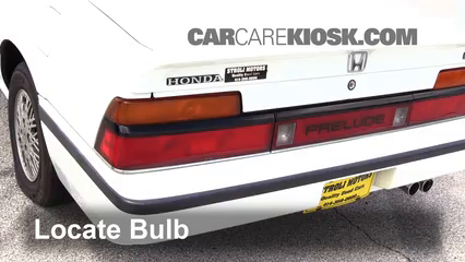 1985 Honda Prelude 2.0 Si 2.0L 4 Cyl. Lights