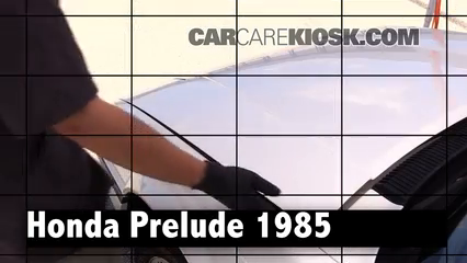 1985 Honda Prelude 2.0 Si 2.0L 4 Cyl. Review