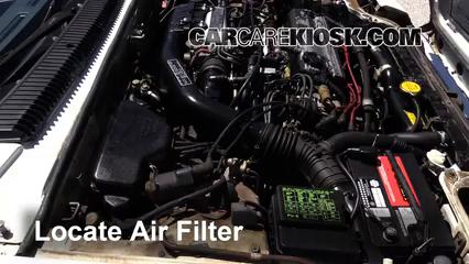1985 Honda Prelude 2.0 Si 2.0L 4 Cyl. Filtro de aire (motor)