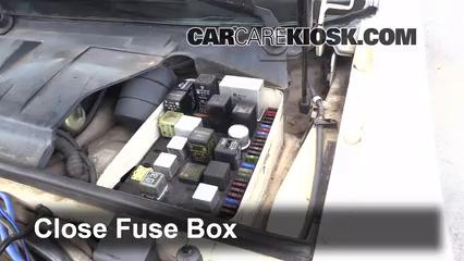 Interior Fuse Box Location 1983 1991 Porsche 944 1987 Porsche 944 Turbo 2 5l 4 Cyl Turbo