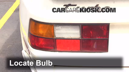 1987 Porsche 944 Turbo 2.5L 4 Cyl. Turbo Lights