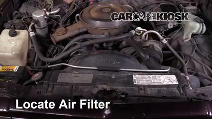 1987 Chevrolet El Camino 5.0L V8 Filtre à air (moteur)