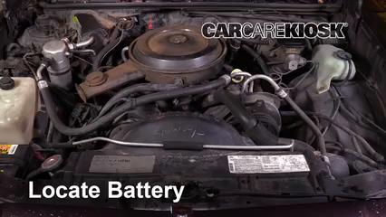 1987 Chevrolet El Camino 5.0L V8 Batterie