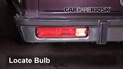 1987 Chevrolet El Camino 5.0L V8 Éclairage