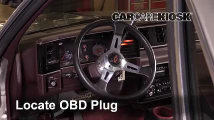 1987 Chevrolet El Camino 5.0L V8 Lumière « Check engine » du moteur