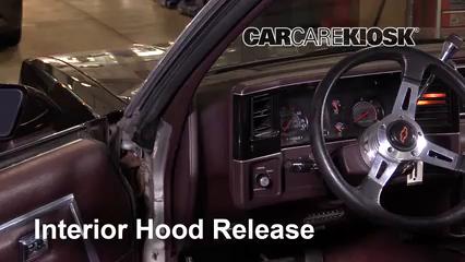 1987 Chevrolet El Camino 5.0L V8 Capot