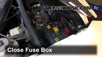 interior fuse box location: 1982-1993 ford sierra - 1989 ford sierra 2 3d  gl 2 3l 4 cyl  diesel