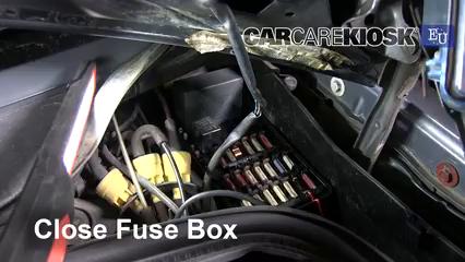 Interior Fuse Box Location: 1986-1996 Mercedes-Benz 190E - 1989 Mercedes-Benz  190E 2.6 2.6L 6 Cyl.CarCareKiosk