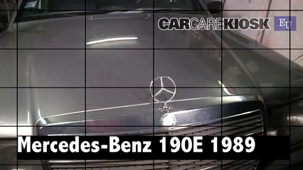 1989 Mercedes-Benz 190E 2.6 2.6L 6 Cyl. Review