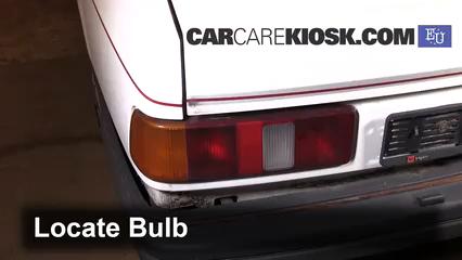 1989 Ford Sierra 2.3D GL 2.3L 4 Cyl. Diesel Luces