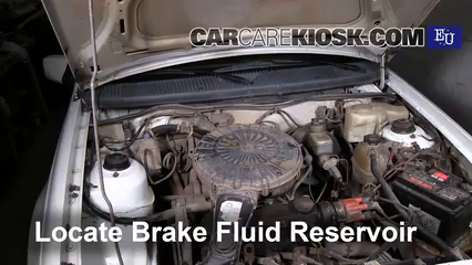 1990 Opel Kadett 1.4 i 1.4L 4 Cyl. Brake Fluid
