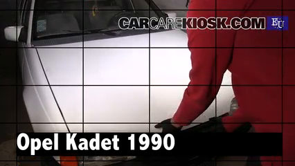 1990 Opel Kadett 1.4 i 1.4L 4 Cyl. Review