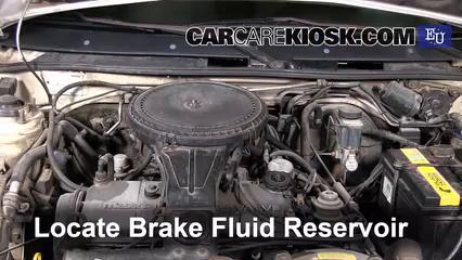 1991 Mazda 323 BG-series 1.3L 4 Cyl. Brake Fluid
