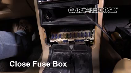interior fuse box location: 1990-1992 volvo 740 - 1992 volvo 740 2 3l 4  cyl  wagon