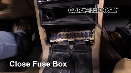 Interior Fuse Box Location: 1990-1992 Volvo 740 - 1992 Volvo 740 2.3L 4  Cyl. Wagon | Volvo 740 Fuse Box |  | CarCareKiosk