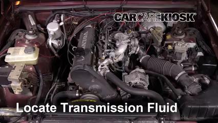 1992 Volvo 740 2.3L 4 Cyl. Wagon Transmission Fluid