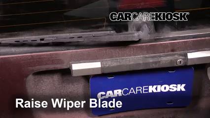 1992 Volvo 740 2.3L 4 Cyl. Wagon Windshield Wiper Blade (Rear)