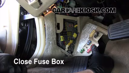 interior fuse box location: 1991-1995 acura legend - 1993 acura legend l  3.2l v6 sedan (4 door)  carcarekiosk