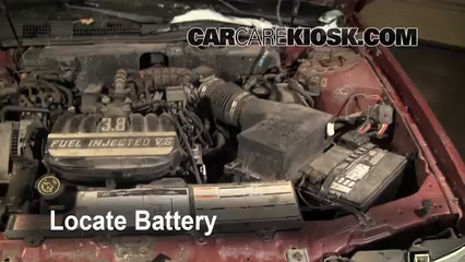 1993 Mercury Sable GS 3.8L V6 Sedan Battery