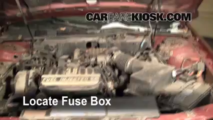 1993 Mercury Sable GS 3.8L V6 Sedan Fuse (Engine) Replace