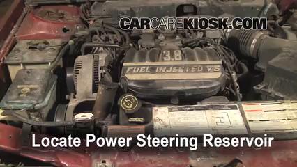 Power Steering Part on 1993 Mercury Topaz Fuse Box