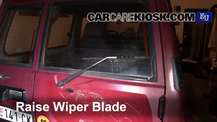1993 Nissan Patrol LX 2.8L 6 Cyl. Turbo Diesel Windshield Wiper Blade (Rear)