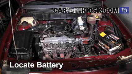 1993 Opel Astra F 1.4L 4 Cyl. Battery