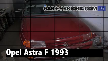 1993 Opel Astra F 1.4L 4 Cyl. Review