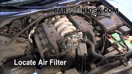 1993 Acura Legend L 3.2L V6 Sedan (4 Door) Air Filter (Engine)