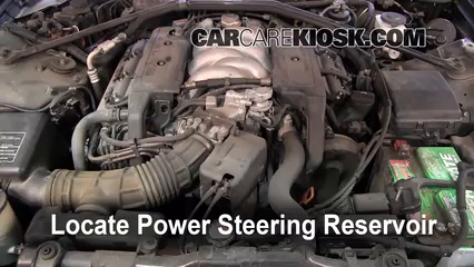 1993 Acura Legend L 3.2L V6 Sedan (4 Door) Power Steering Fluid