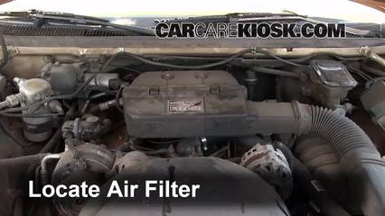 1993 Buick Roadmaster Estate Wagon 5.7L V8 Filtro de aire (motor)
