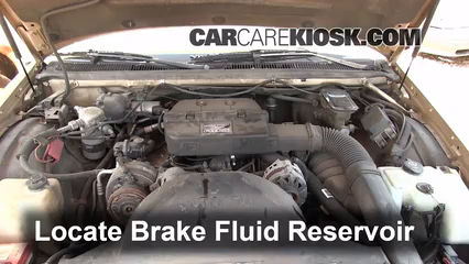 1993 Buick Roadmaster Estate Wagon 5.7L V8 Líquido de frenos