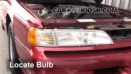 1993 Ford Thunderbird LX 5.0L V8 Luces Luz de giro delantera (reemplazar foco)