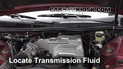 1993 Ford Thunderbird LX 5.0L V8 Transmission Fluid Fix Leaks