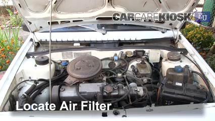 1993 Lada Samara 1300 S 1.3L 4 Cyl. Filtro de aire (motor) Cambio