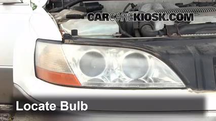 1993 Lexus ES300 3.0L V6 Luces Luz de estacionamiento (reemplazar foco)