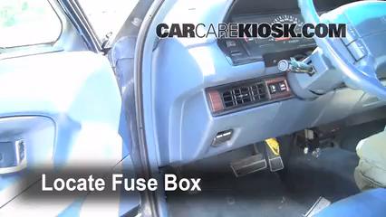 interior fuse box location: 1991-1996 buick park avenue - 1994 buick park  avenue 3.8l v6  carcarekiosk