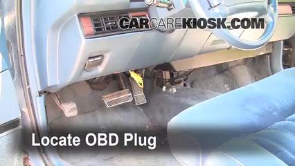 1993 Oldsmobile 98 Touring 3.8L V6 Check Engine Light