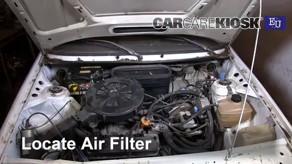 1993 Skoda Favorit L 1.3L 4 Cyl. Filtro de aire (motor)