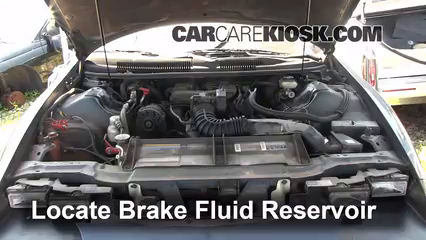 1994 Chevrolet Camaro 3.4L V6 Coupe Brake Fluid