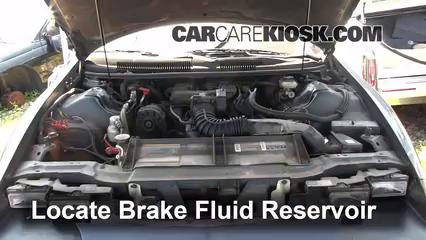 1994 chevrolet camaro 3 4l v6 coupe brake fluid check fluid level