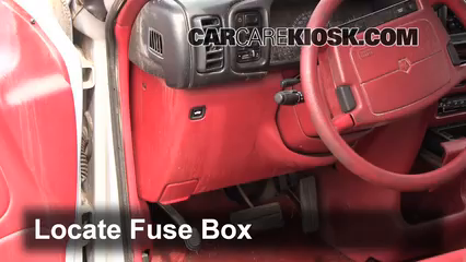 interior fuse box location 1991 1995 dodge caravan 1994 dodge 2005 dodge caravan fuse box 1994 dodge caravan 3 0l v6 fuse (interior) check