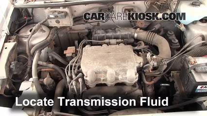 Transmission Fluid Part 1 add transmission fluid 1991 1995 dodge caravan 1994 dodge caravan